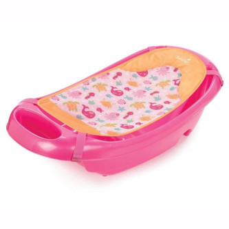Summer Infant - Set Cadita si suport de baita Splish n Splash - Pink