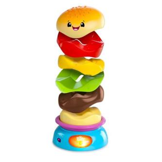 Bright Starts - Jucarie Muzicala Stack n Spin Burger
