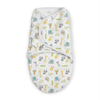Swaddle Me - Sistem de infasare Safari Excursion, 0-3 luni
