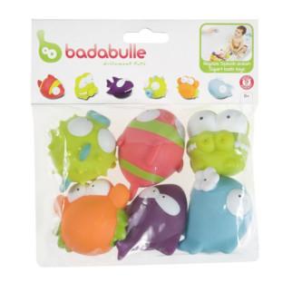 Badabulle - Set 6 jucarii pentru baita Ocean