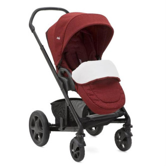 Joie – Carucior multifunctional Chrome Deluxe Cranberry 2 in 1, editie limitata
