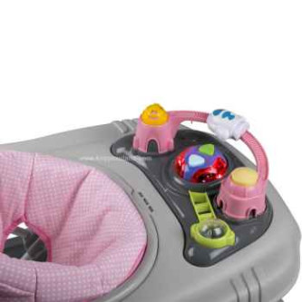 BabyGo – Premergator multifunctional 3 in 1 Light Pink