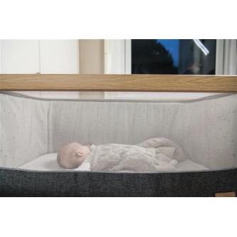 Tutti Bambini - Patut 2 in 1 co-sleeper CoZee Oak