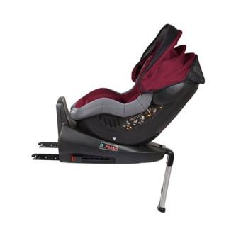 BabyGo – Scaun auto ISO Rotativ 360° - Rosu