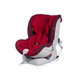 Apramo - Scaun auto rotativ All Stage Chilli Red, 0-36kg