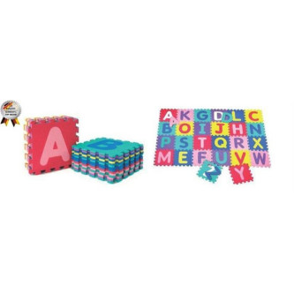 BabyGo - Salteluta de joaca cu litere Puzzle 26 piese