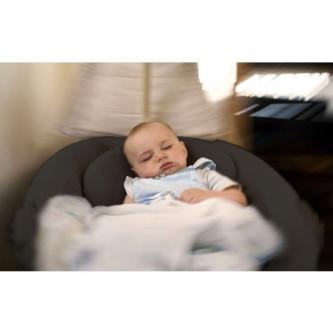 BabyGo - Leagan si balansoar Homey, Gri inchis