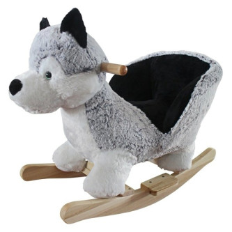 BabyGo - Balansoar cu sunete Husky