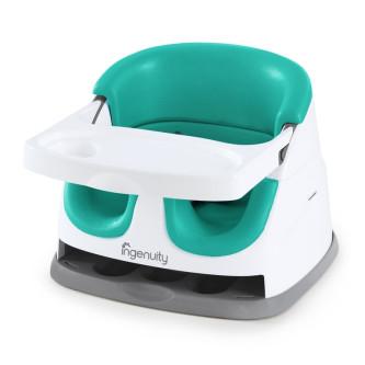 Ingenuity - Scaun de masa 2 in 1 Ultramarine Green